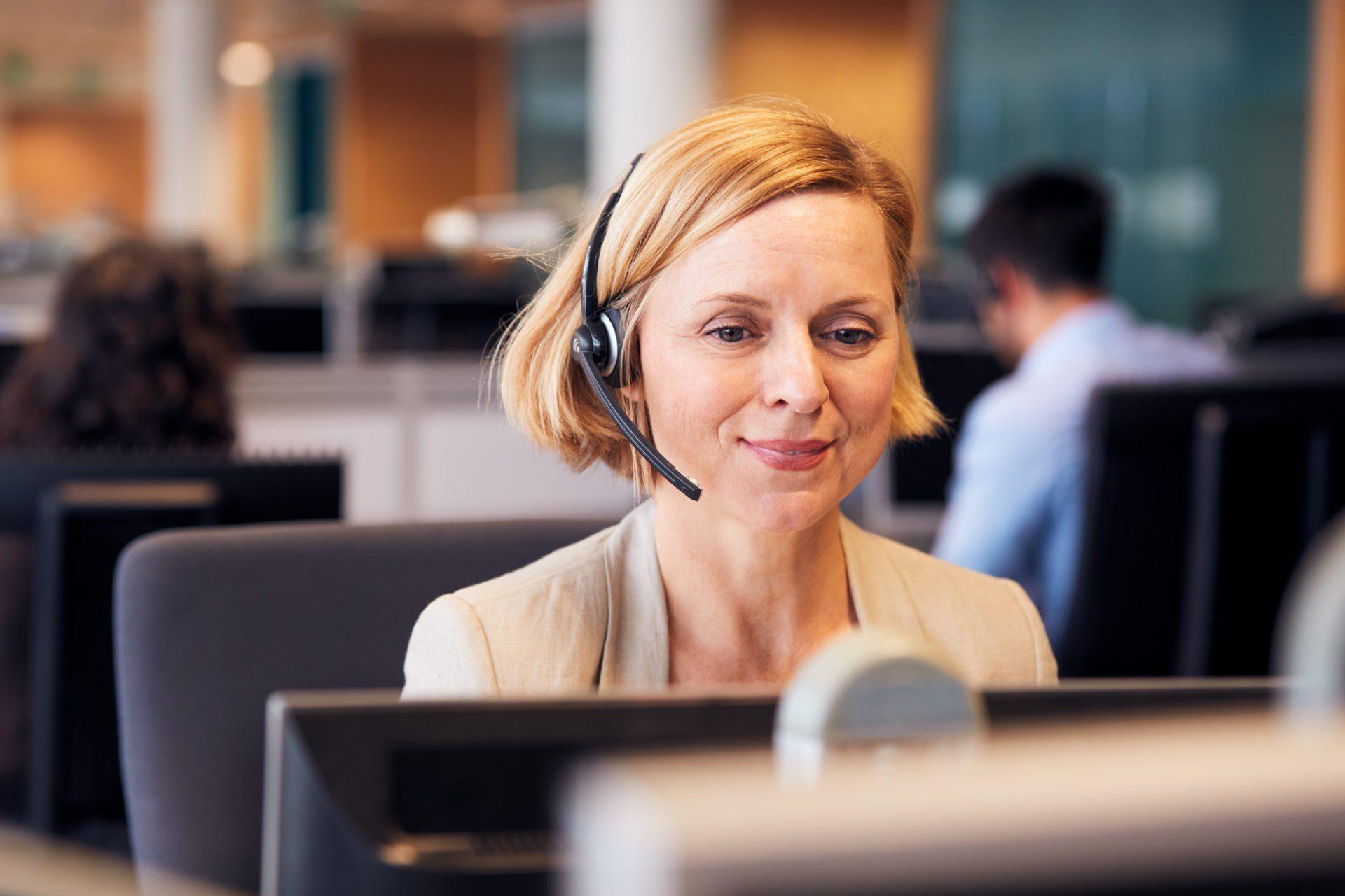 Conseillère relation client standard téléphonique