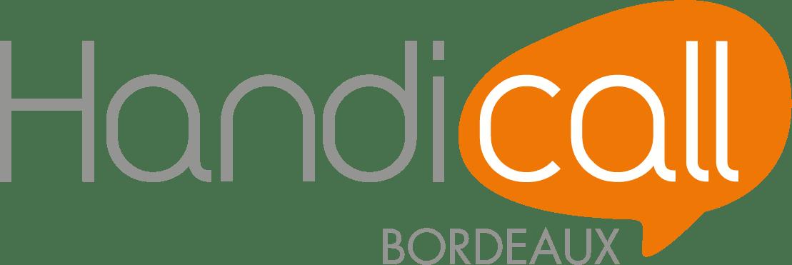 Logo Handicall bordeaux png